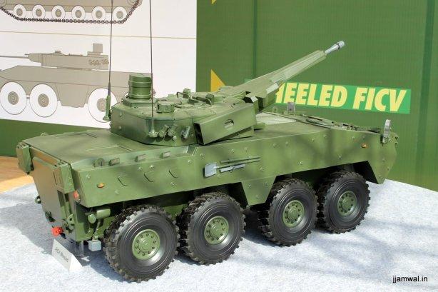 TATA Future Infantry Combat Vehicle, Wheeled Version