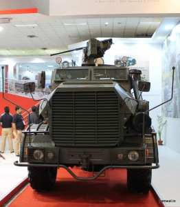 Mine Protected Vehicle India by BAE & Mahindra JV , Defence Land Systems India