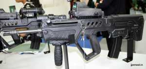 TAVOR TAR21 with self-illumination Reflex Sight