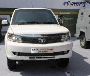 Tata Safari Storme Armoured
