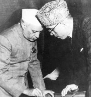 Abdullah and Nehru