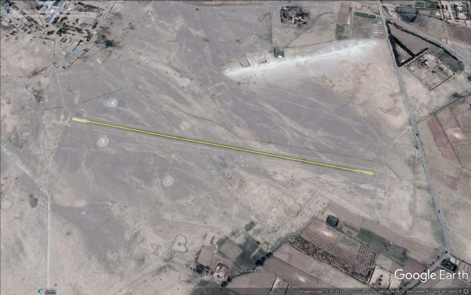 Lora Lai airstrip 900m