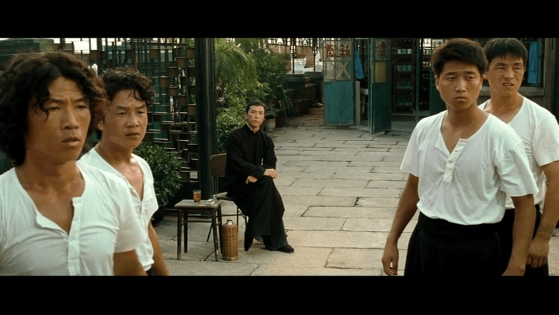 Ip Man 2 - Think before you react