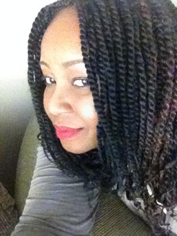 Small Marley braids versatile style inspiration