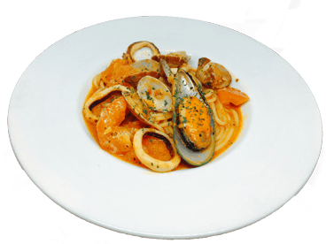 Fisherman-style pasta with special tomato sauce