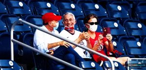 Private Baseball Game For Dr. Anthony Fauci