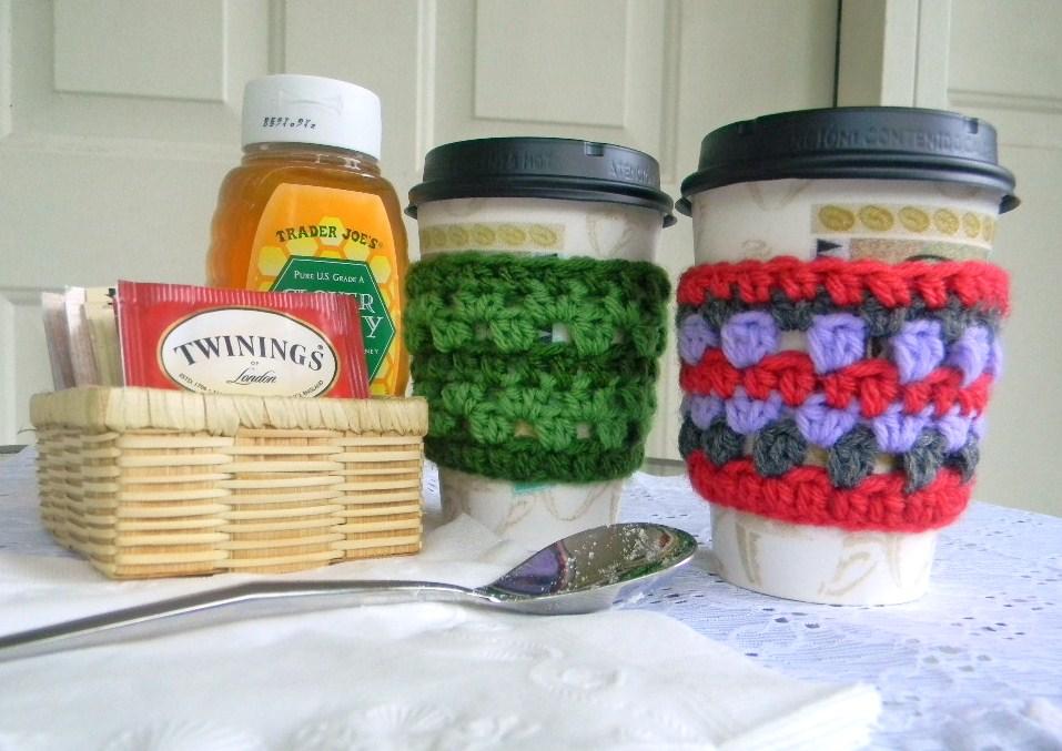 Crochet Coffee Cozy Free Crochet Pattern
