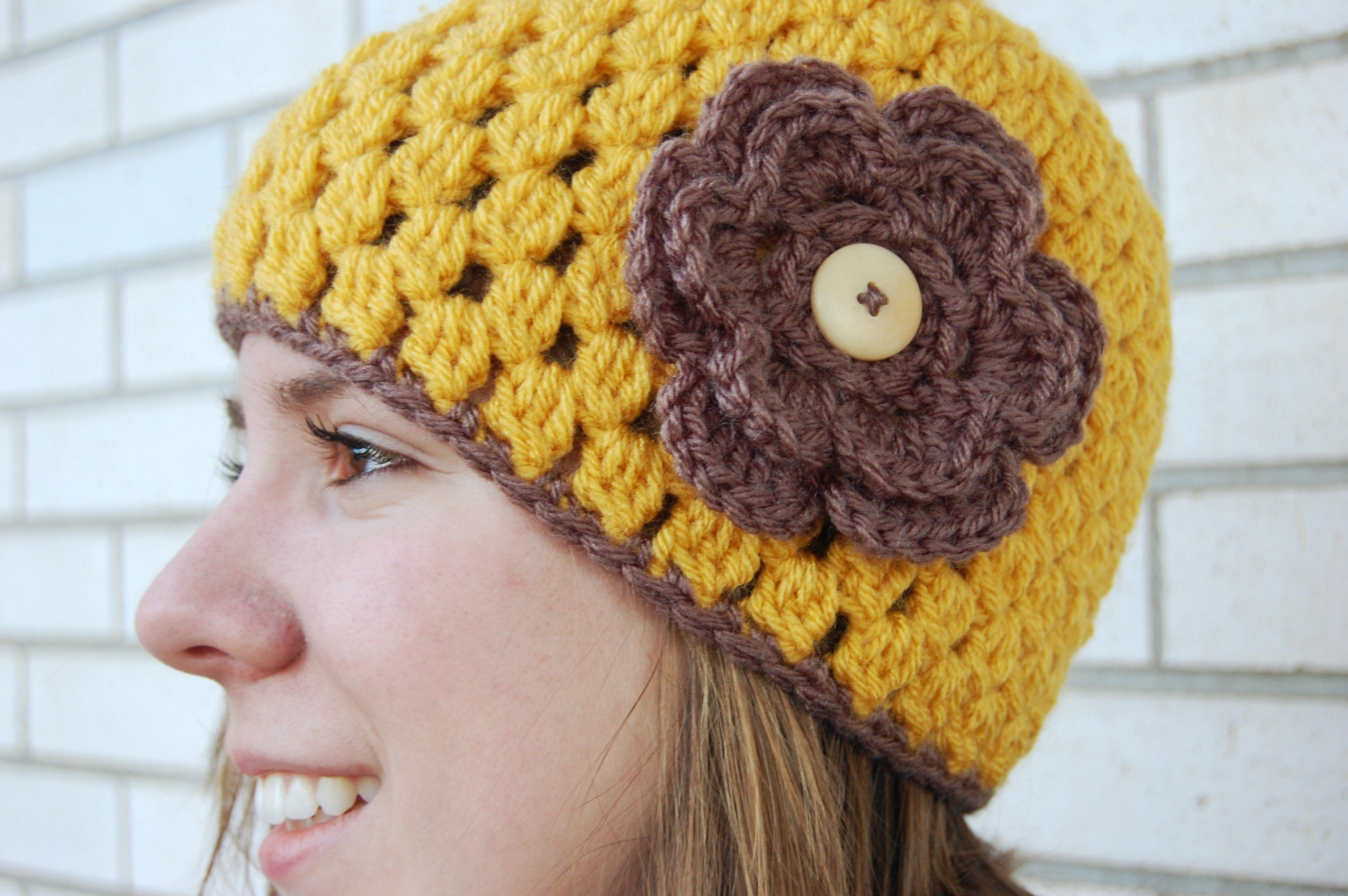 Pattern Cloche Fleece Hat