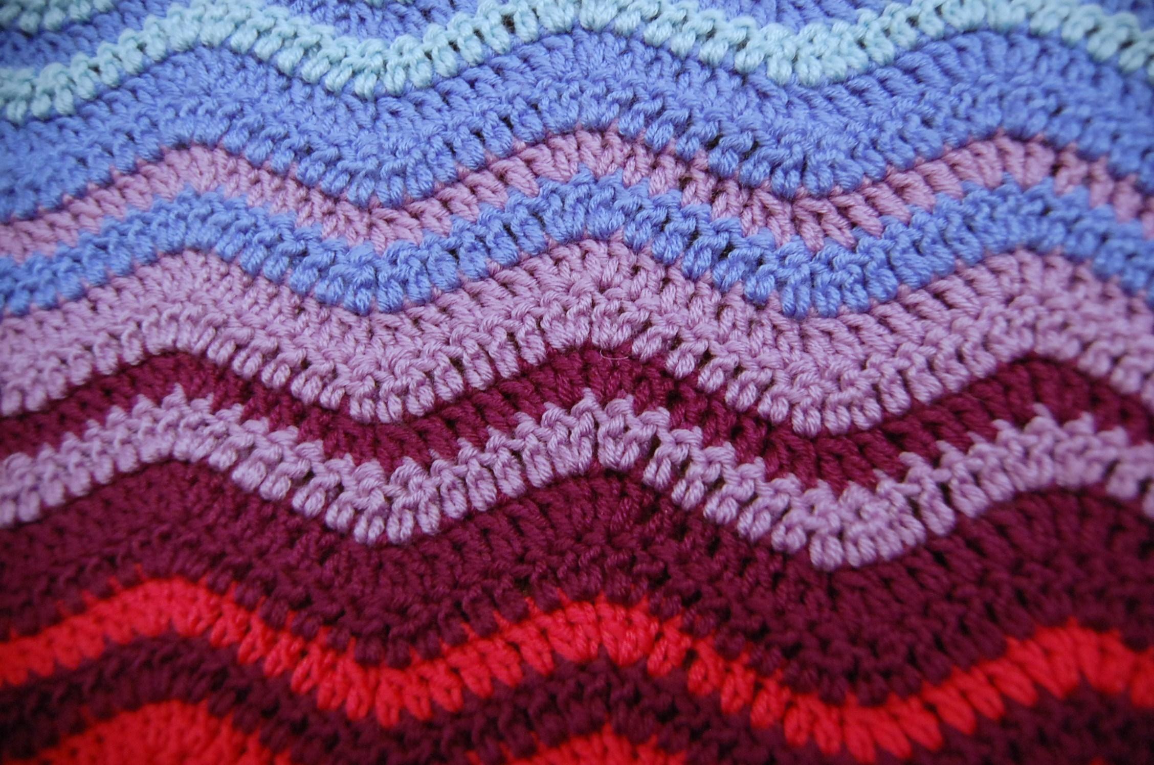 Crochet ripple blanket pattern crochet ripple blanket pattern bankloansurffo Images