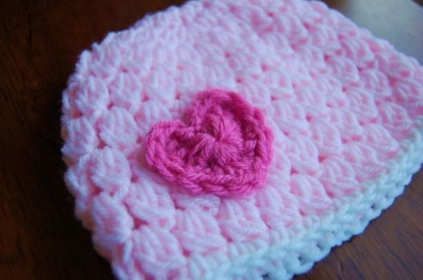 Girl's Free Crochet Hat Pattern