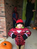 Super Hero!! Ready for action!