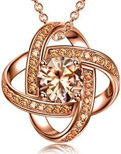pink pendant