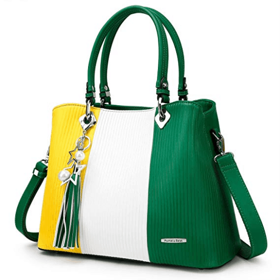 Top Handle Bag Large Shoulder Bag for Women Multi-Colour
