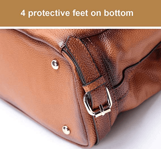 4 protective feet on bottom