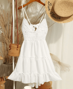 Image_Zaful_Crochet_ Panel_ Cami_ Flare_ Dress_1