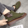 Image_Berrylook_casual_outdoor_short_boots_green_backside