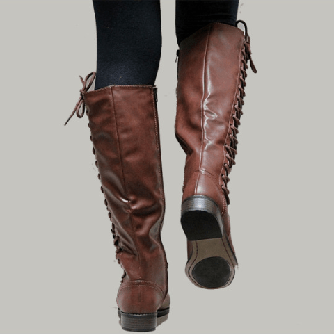 Image_Berrylook_Outdoor_knee_high_boots_ brown
