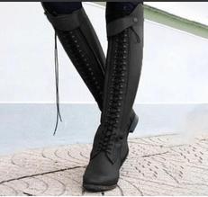 Image_Berrylook_outdoor_knee_high_boots_black