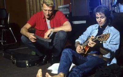 Pas d'album composé par Jean-Jacques Goldman pour Johnny en 2012