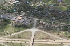 Many neighborhoods hard hit.