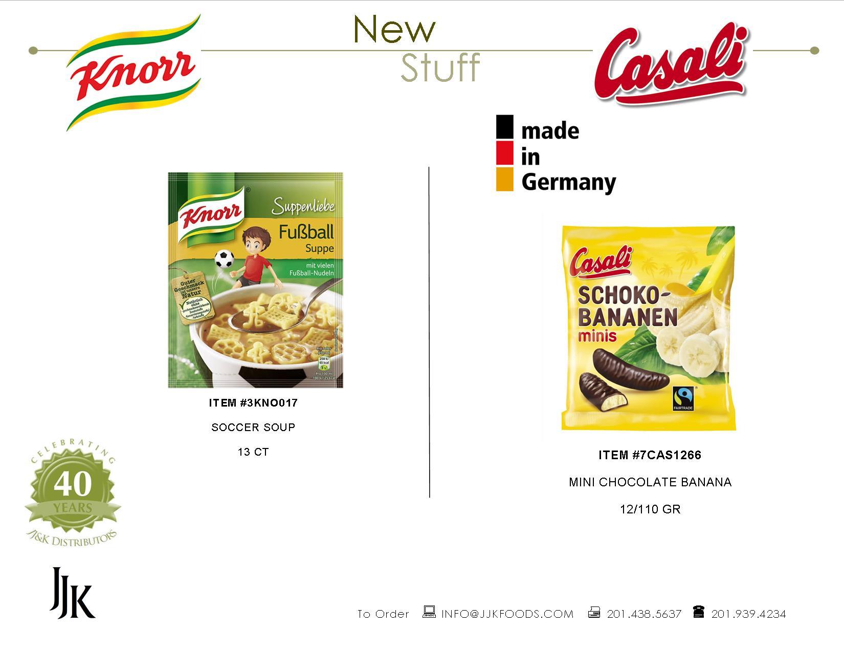 JJ&K Distributors, German Food, Distributor, Wholesale, JJK