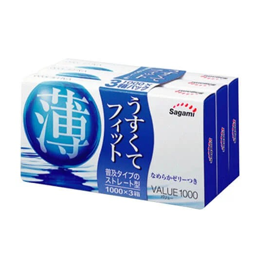 Sagami 相模 價值 1000 12片裝 (日本版)