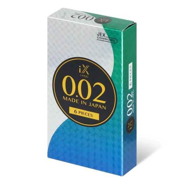 Jex iX 0.02 6 片裝 (日本版)