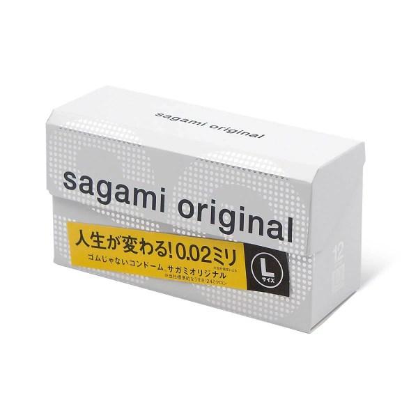 Sagami 相模原創 0.02 大碼 (第二代) 58 mm 12 片裝