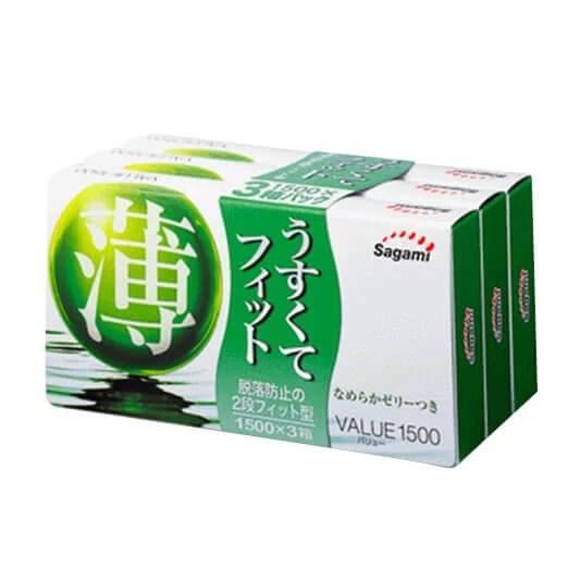 Sagami 相模 價值 1500 12片裝 (日本版)