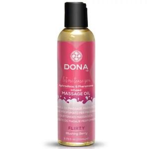 Dona 香味按摩油 臉紅野莓 110 ml