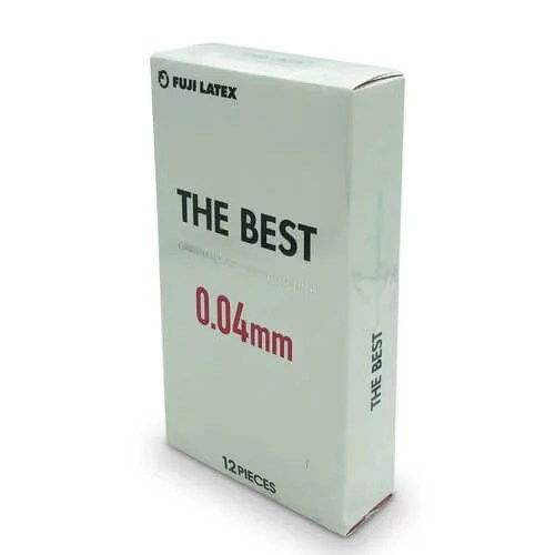 不二乳膠 The Best 0.04 mm 12片裝 (日本版)