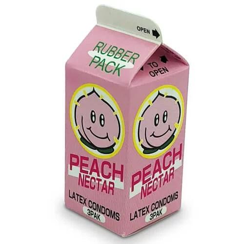 中西 蜜桃味安全小包 3 片裝