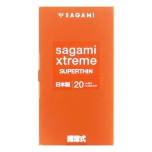 Sagami 相模究極 纖薄式 (第二代) 20 片裝