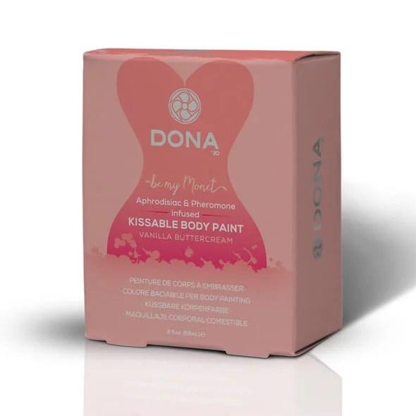 Dona 親吻人體彩繪 香草奶油 60 ml