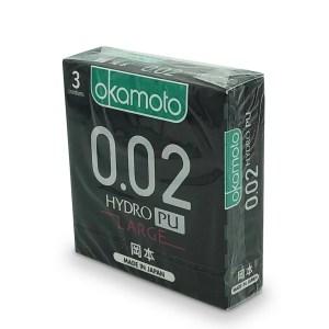 Okamoto 岡本 0.02 水性聚氨酯大碼 57 mm 3 片裝