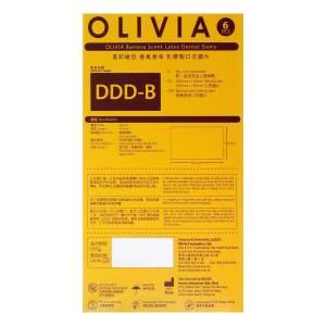 奧莉維亞 香蕉香味 6 片口交膜片