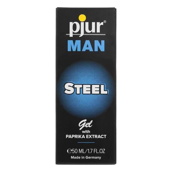 pjur MAN STEEL 鋼鐵英雄男性活力保養凝膠 50ml