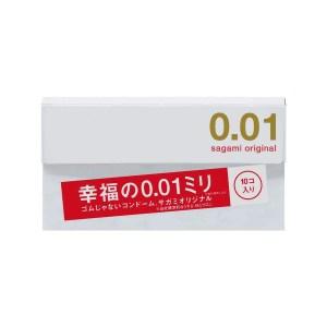 Sagami 相模原創 0.01 10 片裝 PU 安全套