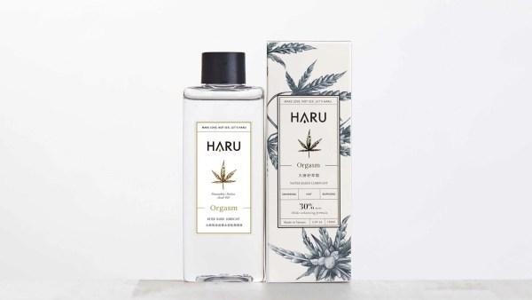 Haru Orgasm 大麻熱浪迷情熱感潤滑液 155mL (酥麻熱感) 2