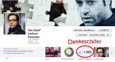 9. März: 1500 Likes bei FB für unsere Fanseite