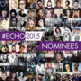 """26. Februar: Radio Doria ist in zwei Kategorien für den Echo 2015 nominiert, und zwar """"best Newcomer"""" und """"Rock Band national"""". YEAH!"""