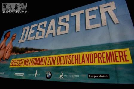 """Am 9. Juli sind wir auf der genialen Premiere von """"Desaster"""" im Haubentauer. Jan meint, das sei die hippste Location in Berlin ;-)"""