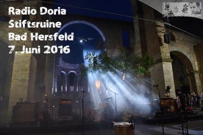 Radio Doria hat die Stiftsruine in Bad Hersfeld gerockt - gleich zweimal. 2400 Gäste standen auf den Stühlen. Grandios!!