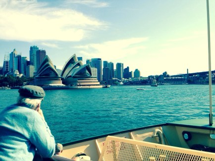 Sydney Opera House, view from the Manly ferry