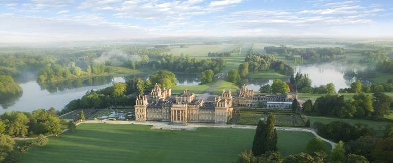 Blenheim Palace-Park and gardens-South Lawn-Aerial_Credit-Blenheim Palace 2016