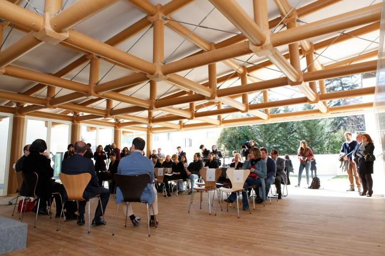 IE Paper Pavilion