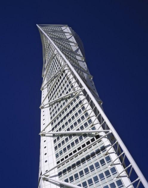 Architect: Santiago Calatrava, Zurich (Switzerland) Project: Turning Torso, office + apartment building, Malmoe (Sweden)