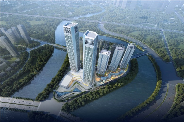 5_tk_elevator_supplies_24_twin_elevators_to_forte_financial_island_iv_in_chengdu_china_2