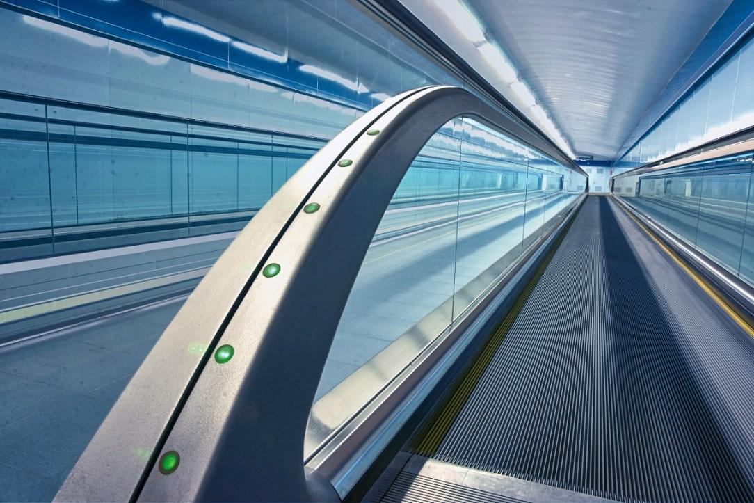 iwalk, Plaza Castilla Madrid, metro station
