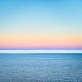 Fogbank and Surf at Dawn, — Pacific Coast, CA © jj raia